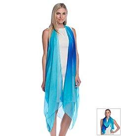 Calvin Klein Diagonal Dyed Scarf Vest Pareo