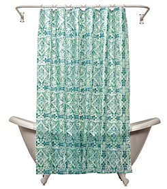 India Ink Morocco PEVA Shower Curtain