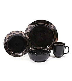 Baum Checkered 16-pc. Dinnerware Set