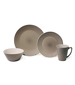 Baum Pyramid Grey 16-pc. Dinnerware Set