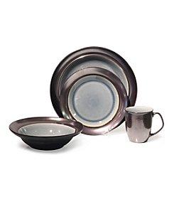 Baum Stellar Grey 16-pc. Dinnerware Set