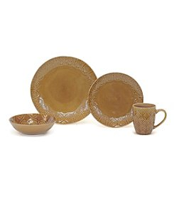 Baum Andaluz Amber 16-pc. Dinnerware Set