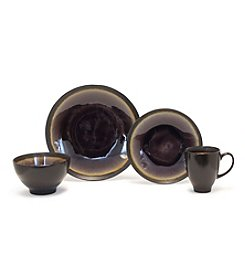 Baum Galaxy Coupe Plum 16-pc. Dinnerware Set