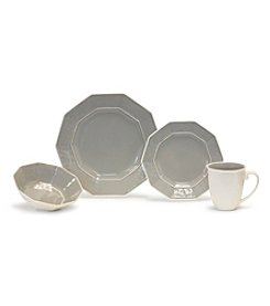 Baum Prisma Grey 16-pc. Dinnerware Set