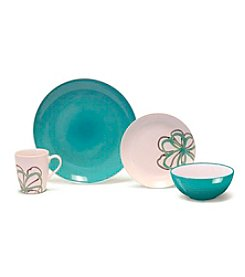 Baum Zen Garden Green 16-pc. Dinnerware Set