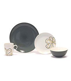 Baum Zen Garden Grey 16-pc. Dinnerware Set
