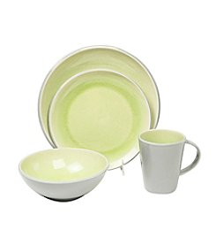 Baum Canvas Lime 16-pc. Dinnerware Set
