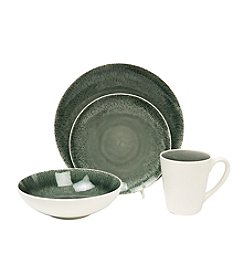 Baum Fused Grey 16-pc. Dinnerware Set