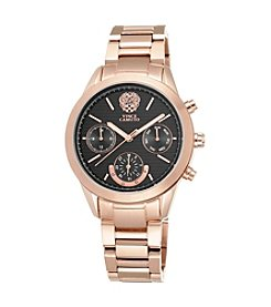 Vince Camuto™ Women's Rose Goldtone Bracelet Watch with Multi-Function Dial