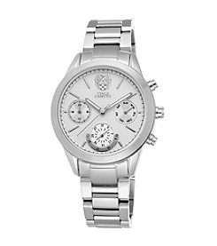 Vince Camuto™ Women's Silvertone Bracelet Watch with Multi-Function Dial