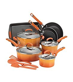 Rachael Ray® 14-pc. Orange Cookware Set