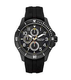 Nautica® Men's NSR 300 Black/Black Watch