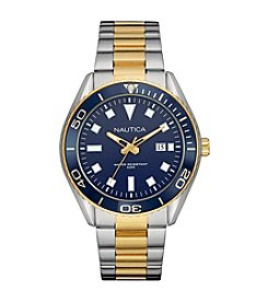 Nautica® Men's NAC 103 - Date Two-Tone Bracelet Watch
