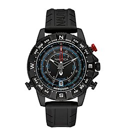 Nautica® Men's NSR 103 Tide Temp Compass Chronograph Watch