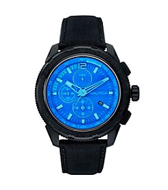 Nautica® Men's NST 101 Special Blue Crystal Over Blue Dial Watch
