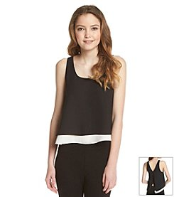 Sam Edelman™ Layered Zip Tank