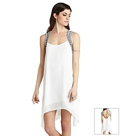 BCBGeneration™ Jewel Trim Dress