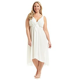 Flora Nikrooz Plus Size High-Low Night Gown