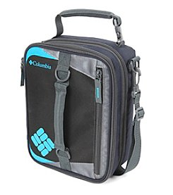Columbia Grid Line Navy Expandable Lunch Pack