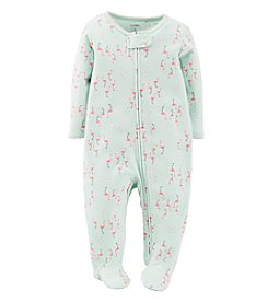 Carter's® Baby Girls' Flamingo Print Footie
