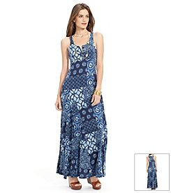 Lauren Jeans Co.® Sleeveless Printed Maxidress