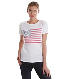 Lucky Brand® Peace Flag Tee
