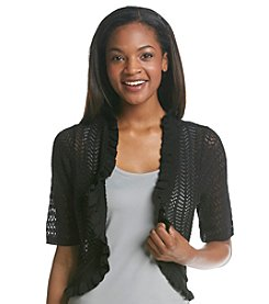 Notations® Solid Bolero Shrug