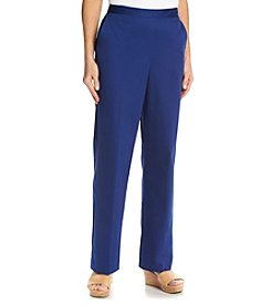 Alfred Dunner® Catalina Island Solid Pull On Short Pant