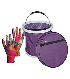 The Earthly Way, Inc. Garden Works Presto Bucket and Infusion Glove Set