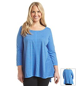 Jones New York Sport® Plus Size Asymmetrical Top