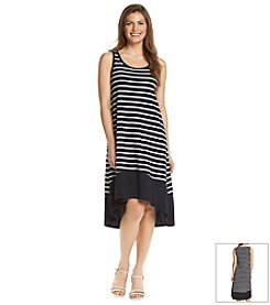 Jones New York Sport® Petites' Stripe Tank Dress