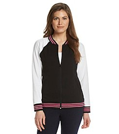 Jones New York Sport® Petites' Color Block Baseball Jacket