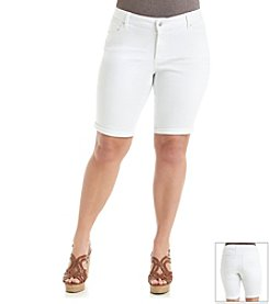 Jessica Simpson Plus Size Maxwell Roll Up Shorts