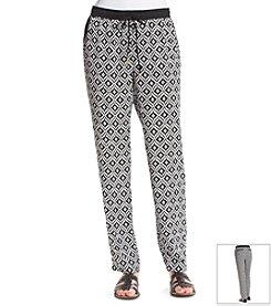 Jones New York Signature® Printed Drawstring Pant