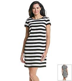 Jones New York Collection® Stripe Woven Dress