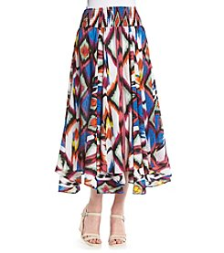 Chelsea & Theodore® Printed Broomstick Skirt