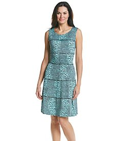 Perceptions Circle Tiered Dress