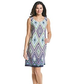 Madison Leigh® Geo Print Necklace Dress