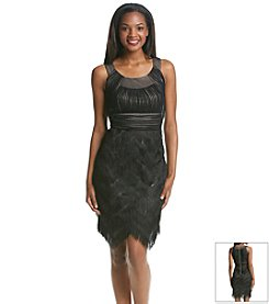 JAX® Fringe Skirt Dress
