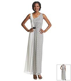 Nine West® Asymmetric Gown