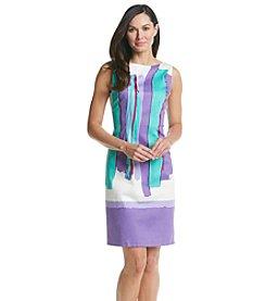 Chetta B Paintbrush Dress