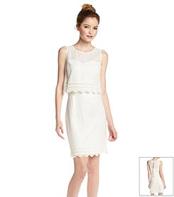 GUESS Popover Crochet Dress