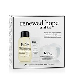 philosophy® Renewed Hope Trial Kit