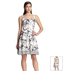 Robert Rodriguez® Printed Scuba Dress