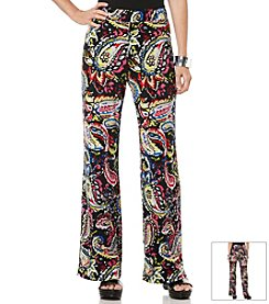 Rafaella® Paisley Print Pants