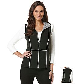 Rafaella® Zip-Up Vest