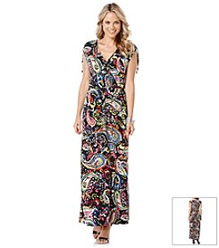 Rafaella® Pailey Print Maxi Dress