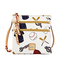 Dooney & Bourke® Brewers Triple Zip Crossbody
