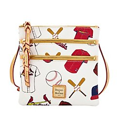 Dooney & Bourke® Cardinals Triple Zip Crossbody