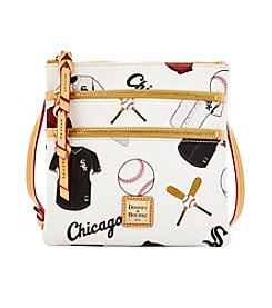 Dooney & Bourke® MLB® Chicago White Sox Triple Zip Crossbody